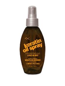 Keratin Oil Spray Strengthening Leave In Mist  118 Ml - FX
