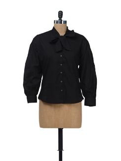 Black Scilla Shirt - NUN