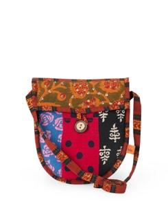 Trendy Ethnic Printed Sling Bag - Desiweaves
