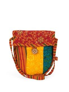 Cotton Printed Sling Bag - Desiweaves