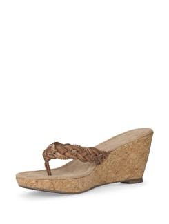 Tan Wedge Sandals - Eske