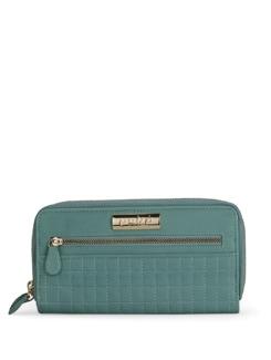 Zippered Turquoise Wallet - Eske