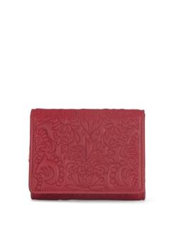 Rose Red Floral Wallet - Eske