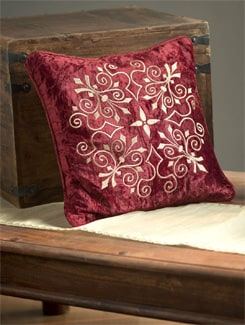 Burgundy Cushion Cover - Profile