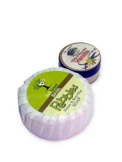 Basil Soap & Vanilla Lip Balm (Set Of 2) - Last Forest