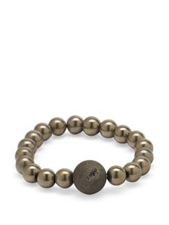 Gold Hematite Cerne Bracelet - Ivory Tag