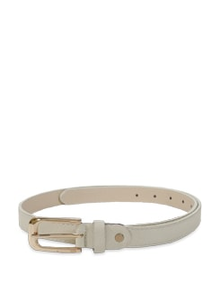 Chic Off White Belt - Lino Perros