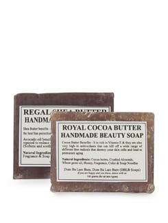 Regal Shea Butter&Cocoa Butter- Set Of 2 Handmade Soap - Dum Ba Lam Bam