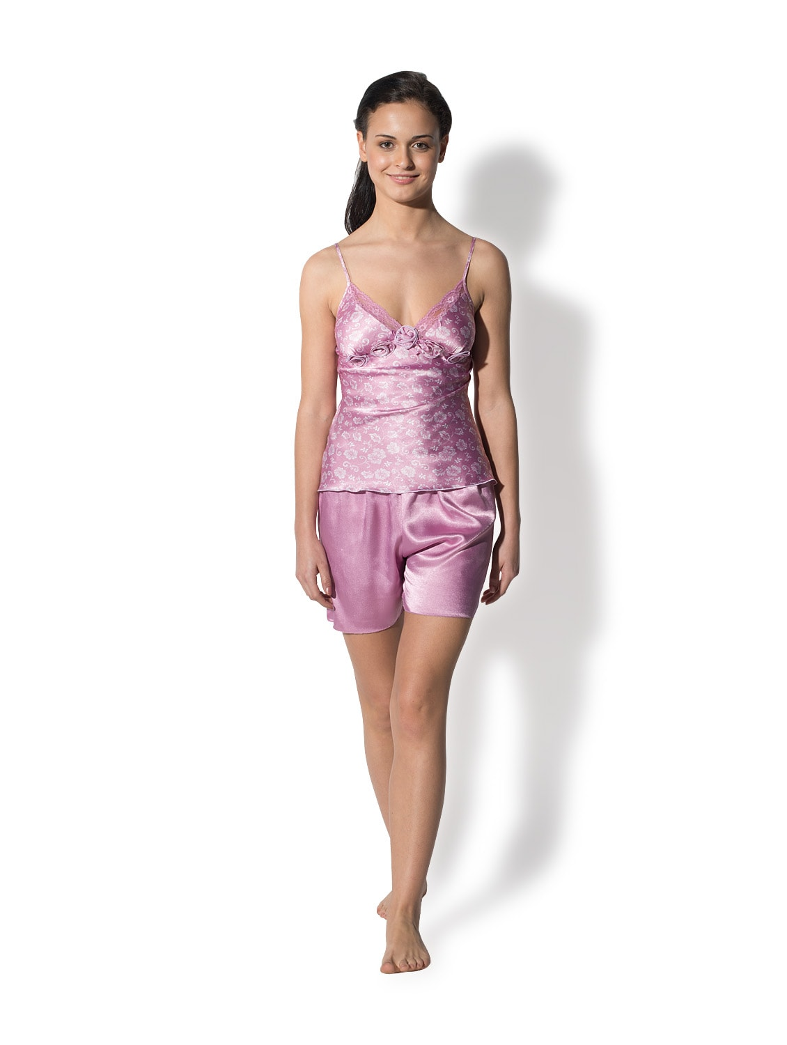 0cfdb627a8 Buy Cutesy Satin Night Suit by Privatelives - Online shopping for Nightwear  in India