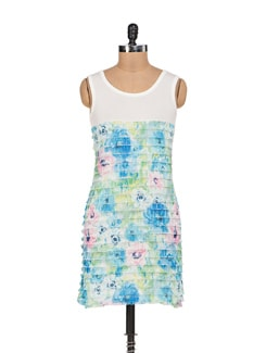 Printed Tiered Dress - Sanchey