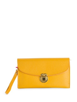 Chic Neon Yellow Wallet - Toniq