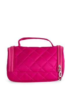 Quilted Pink Make-Up Bag - Toniq