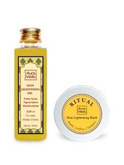 Auravedic Flawless Skin Lightening Kit - Auravedic
