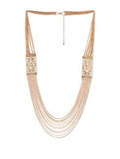 Multi-layered Gold Chain Necklace - YOUSHINE