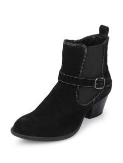 Suede Black Boots - La Briza