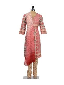 Pastel Hued Floral Suit - KILOL