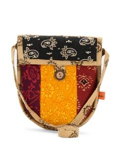 Ethnic Multicolored Sling Bag - Desiweaves