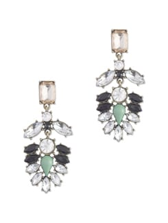 Embellished Multicolored Drop Earrings - Miss Chase