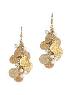 Coin Bunch Earrings - Blend Fashion Accessories