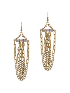 Interlinked Chain Earring - Blend Fashion Accessories
