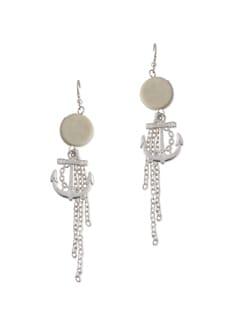 Anchor Down Earrings - Blend Fashion Accessories