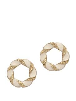 Wreath Stud Earrings - Blend Fashion Accessories
