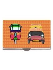 Auto Taxi Steel Cardholder - The Elephant Company