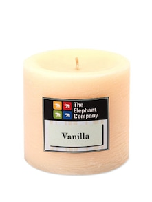 Candle Scented Vanilla- Ivory 2.75in - The Elephant Company