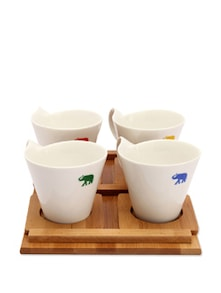 Bamboo Mug Set - The Elephant Company