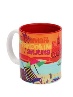 Ceramic Mug Goa Beaches - The Elephant Company