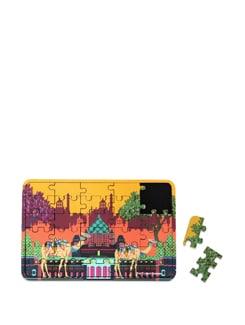 Puzzle Coaster Indian Caravan Serai - The Elephant Company