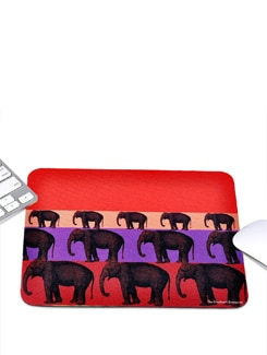 Mouse Pad Rubber Elephant Stack - The Elephant Company