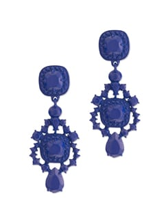 Blue Charm Earrings - YOUSHINE