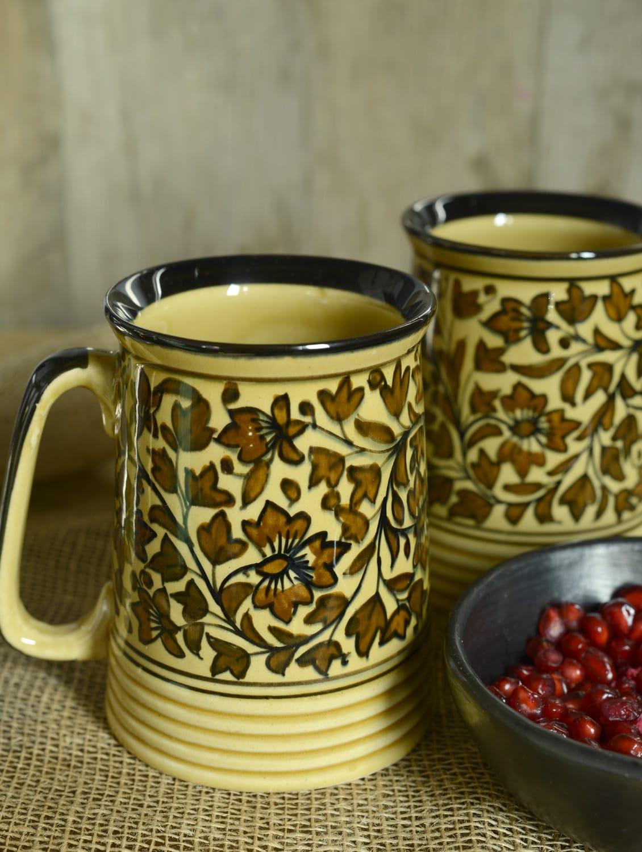 Heritage Beer Mugs - Set Of 2 - Cultural Concepts