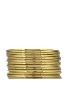 Dazzling Golden Bangles - Toniq