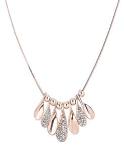 Rose Gold Necklace - THE PARI