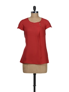Stylish Red Top - Stylechiks