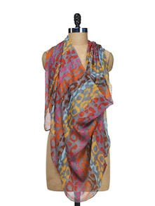 Abstract Print Scarf - STREET 9