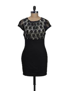 Black Bodycon Dress - Schwof