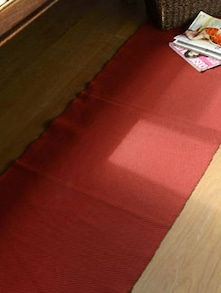 Red Cotton Table Runner - HOUSE THIS