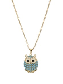 Oriental Owl Pendant Necklace - YOUSHINE