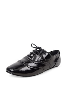 Patent Casual Shoes With Laces - Carlton London