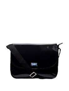Patent Flap Sling Bag - Carlton London