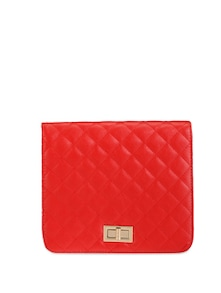 Quilted Pattern Sling Bag - Lino Perros