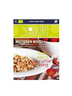 Multigrain Muesli - Nourish Organics