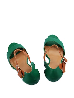 069a046c17d Buy Emerald Green Wedges for Women from Knight N Gale for ₹1599 at ...