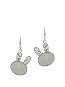Studded Bunny Ears Earrings - Karrat 22
