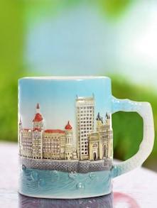 City Of Mumbai Ceramic Coffee Mug - The Bombay Store