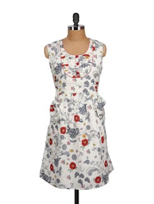 Multicolored Floral Summer Dress - MARTINI