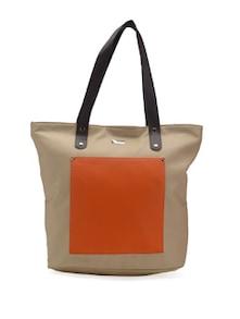 Beige&Orange Handbag - YELLOE